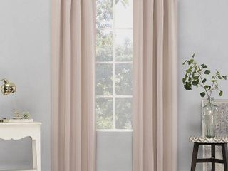 Sun Zero Hayden Energy Saving Blackout Tab Top Curtain Panel