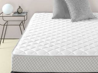 Priage by ZINUS Quilted Mattress Cover for Mattresses 8 Inches and under