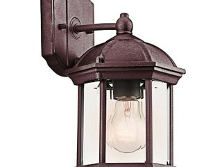 Kichler Barrie 49183 Outdoor Wall lantern   6 25 in