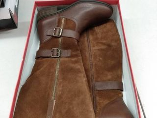 American Rag Collins leather Buckled Boots  Size 10M