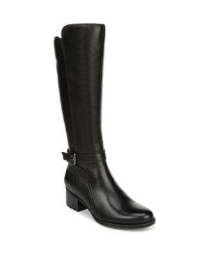 Women s Naturalizer Demetria Tall Boot  Size 9 5 Wide Calf M   Black