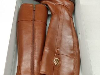 Tommy Hilfiger Women s Imina Riding Boots Women s Shoes  Size 6M