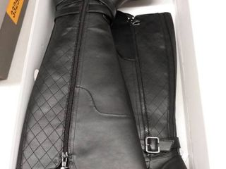 Gbg los Angeles Haydin Wide Calf Riding Boots Women s Shoes  Size 7 5M