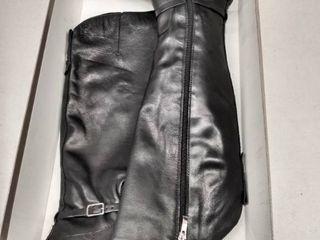 Franco Sarto Haylie Black leather  Size 5M