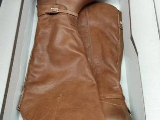 Franco Sarto Haylie Wide Calf High Shaft Boots Women s Shoes  Size 9 5M