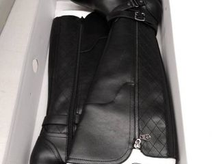 G by Guess Womens Haydin Almond Toe Knee High Fashion Boots  Size 7 5M