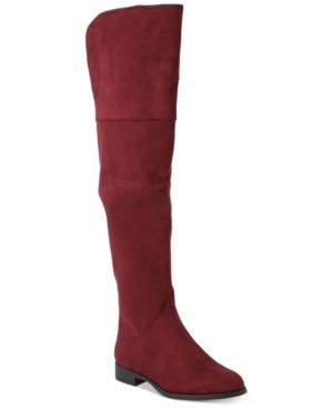 Xoxo Tristen Over The Knee Boots Women s Shoes