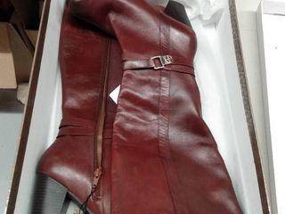 Giani Bernini Rozario Memory Foam Wide Calf Dress Boots  Size 8 5M WC
