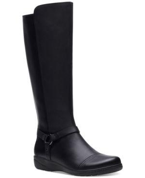 Clarks Women s Cheyn lindie leather Boots Women s Shoes