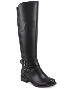 Gbg los Angeles Haydin Wide Calf Riding Boots Women s Shoes