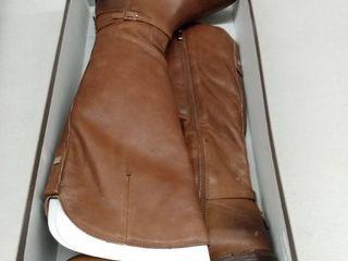 Franco Sarto Haylie Cognac leather  Size 7W