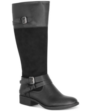 Style   Co Ashliie Riding Boots  Created for Macy s Women s Shoes