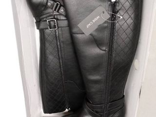 Gbg los Angeles Haydin Wide Calf Riding Boots Women s Shoes  Size 8M WC