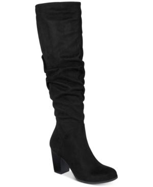Material Girl Women s Myah Tall Dress Boots  Created for Macy s Women s Shoes