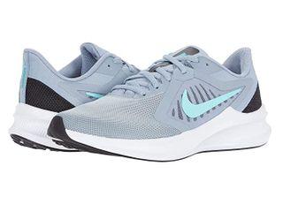 Nike Downshifter 10  Obsidian Mist Hyper Turquoise Black Sky Grey  Women s Shoes