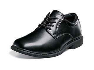 Stacy Adams Austin Plain Toe Uniform Dress Casual lace up Oxford Shoe  little Kid Big Kid Black 3 M US little Kid