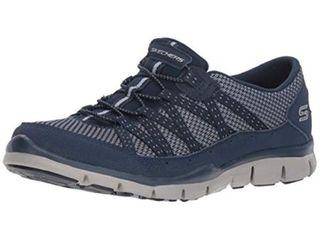 Skechers Women s Gratis Strolling Sneaker  Size 8H