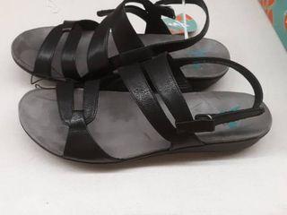 Yuu Jean Womens Strap Sandals 11m Black