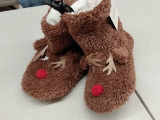 Reindeer Slippers  Size M l