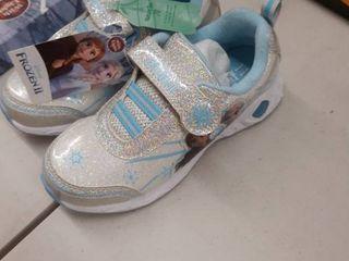 Frozen 2 toddler girls silver blue 11