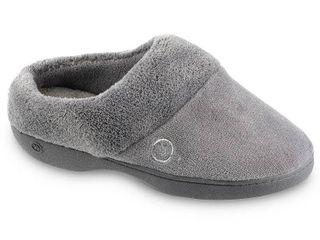 Isotoner Women s Mixed Microterry Clog Slippers  Online Only