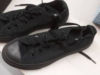 Toddler Converse Chuck Taylor Sneaker  Size 1 M   Black