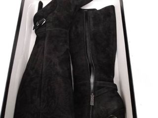 Women s Naturalizer Tai Knee High Boot  Size 6 Regular Calf W   Black