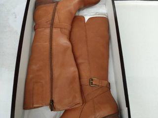 Women s Naturalizer Demetria Tall Boot  Size 8 Regular Calf M   Brown