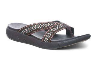 Bearpaw Women s Juniper Flat Sandals Women s Shoes  Size 7