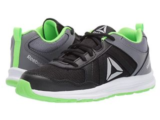 Reebok Boys Almotio 4 0 Sneakers Sz 6 5 Running Youth Gs Black Grey Shoes