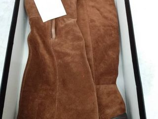 Women s Naturalizer Fae Tall Boot  Size 9 5 Wide Calf M   Brown