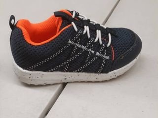 Carter s size 7 baby navy and orange
