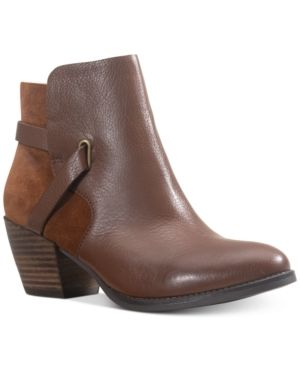 American Rag Ashlyn leather leather Booties  Created for Macy s Women s Shoes
