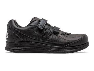 New Balance Women s WW577 Walking Velcro Shoe Black 9 D US