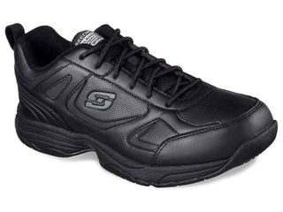 Skechers Men s Work Relaxed Fit Dighton Slip Resistant Wide Width Casual Work Sneakers from Finish line