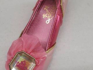 Disney  Aurora pink slipper size 13 1