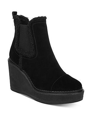 Sam Edelman Reagan Wedge Booties Women s Shoes  Size 11M