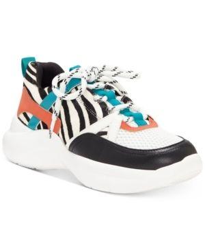 Inc Gemella Animal Print Women s Sneakers  Size 9M