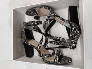 Bar Iii Blythe Strappy Dress Sandals  Size 10