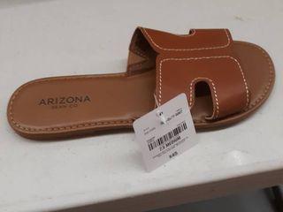 Arizona Cognac sandle size 7 5