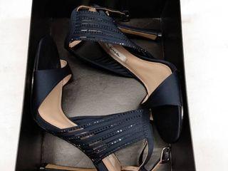 Women s Nina Damaris Crystal Embellished Sandal  Size 6 M   Blue