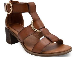 sugar Harah Women s High Heel Sandals  Size  7  Brown