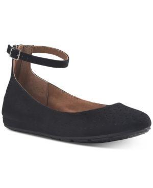 American Rag Eeva Ankle Strap Flats  Size 6M
