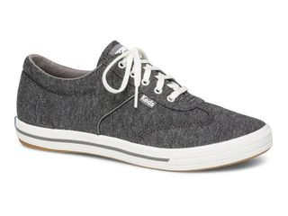Keds Courty Jersey Women s Sneakers  Size  5  Dark Grey