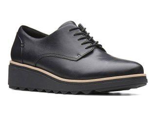 Clarks Collection Women s Sharon Noel Platform Oxfords Women s Shoes  Size 7 5M