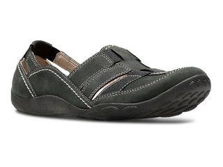 Clarks Women s Clarks Haley Stork loafer Black 8 M US
