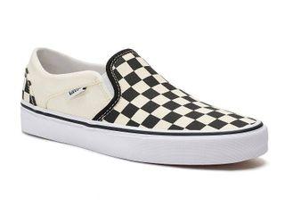 Vans Women s Asher Checkerboard Slip On Sneakers Women s Shoes