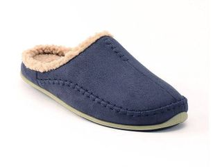 Men s Deer Stags Nordic Slide Slippers   Navy 16  Blue