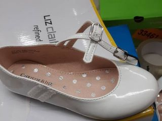 Christie and Jill TUlIP Flat white size 11