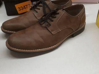 Mens dress shoe SJB OlIVER BROWN 10 5
